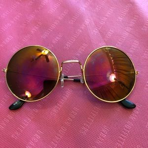 Accessories - Pink Lenses Sunglasses